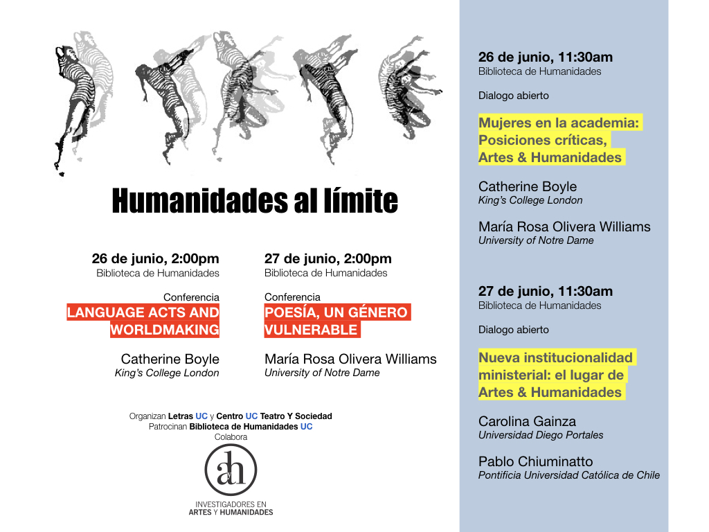 "Workshop ""Humanidades al límite"""
